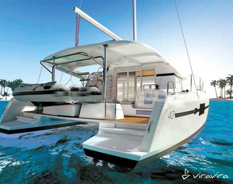 Slider lagoon 42 sailing cat 157