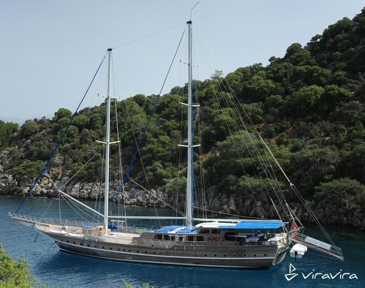 Slider yacht charter gocek  turkey blue voyage turkey