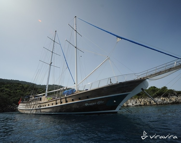 Slider yacht charter gocek  turkey blue voyage turkey gulet