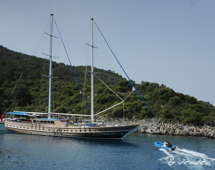 Slider yacht charter gocek  turkey blue voyage turkey gulet 4