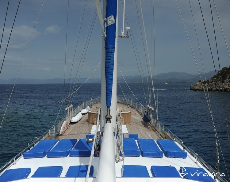 Slider yacht charter gocek  turkey blue voyage turkey gulet 11