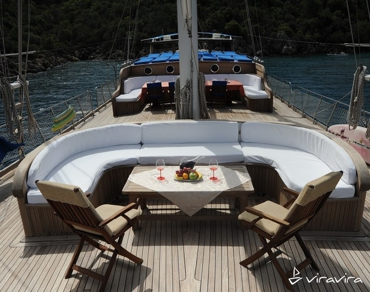 Slider yacht charter gocek  turkey blue voyage turkey gulet 12