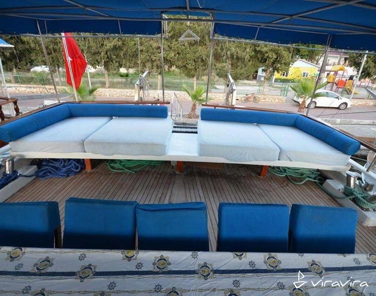 Slider gulet charter turkey 11