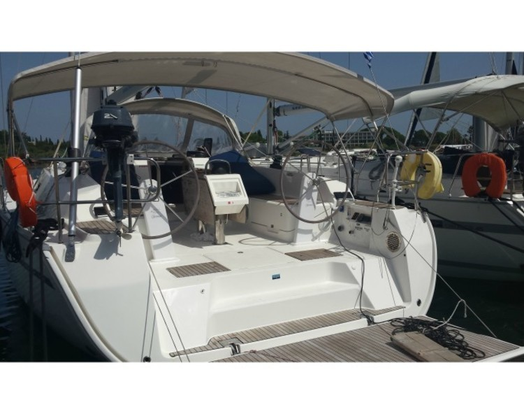 Slider yacht charter greece bavaria 46 cruiser 1